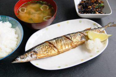 初秋刀魚~細身でスーパーモデル並みの高値1尾6000円也~「食せば人生」一寸お徳な話~